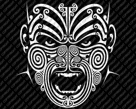 Maori T-Shirt | Child's | War Moko