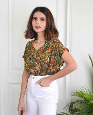 Silbido Label Blouse