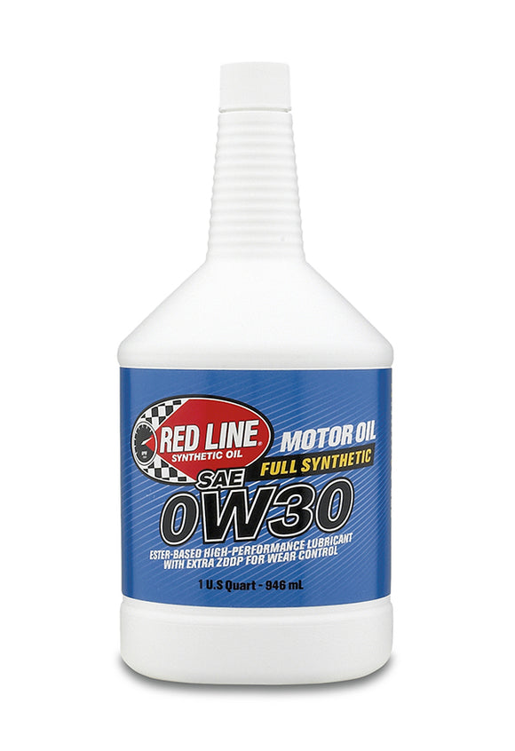 Red Line 0W30 Motor Oil quart