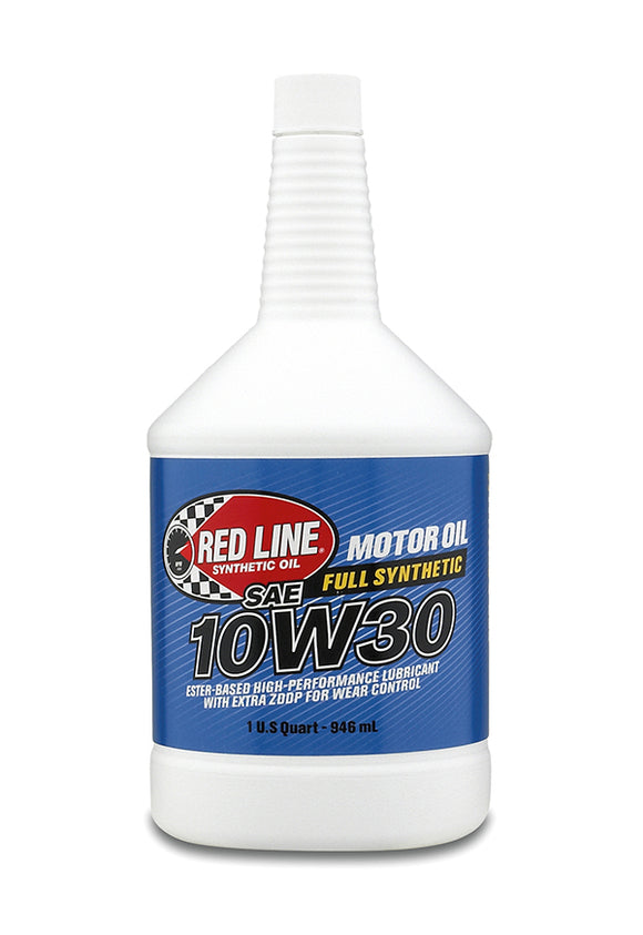 Red Line 10W30 Motor Oil quart