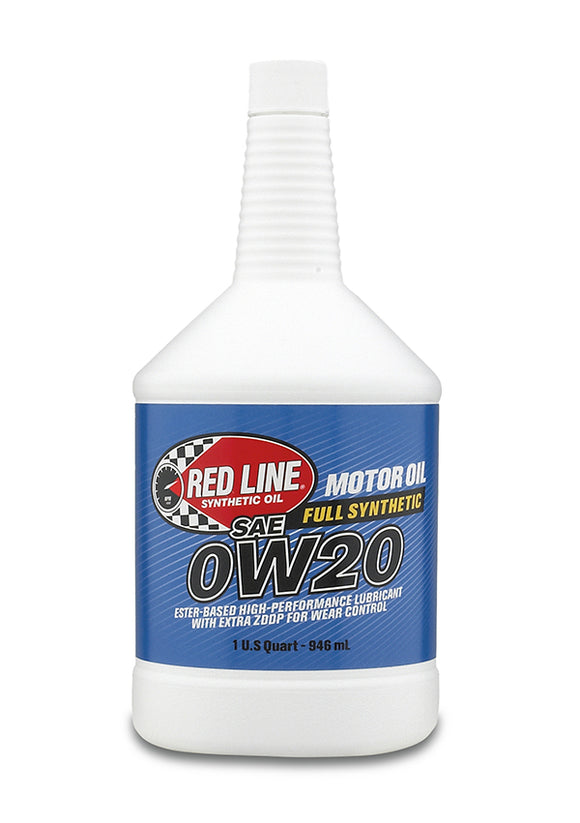 Red Line 0W20 Motor Oil quart