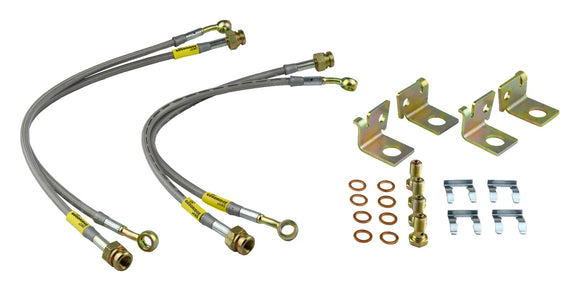 Goodridge SS Brake Lines - Corvette C6