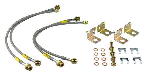 Goodridge SS Brake Lines - Corvette C6 Z06