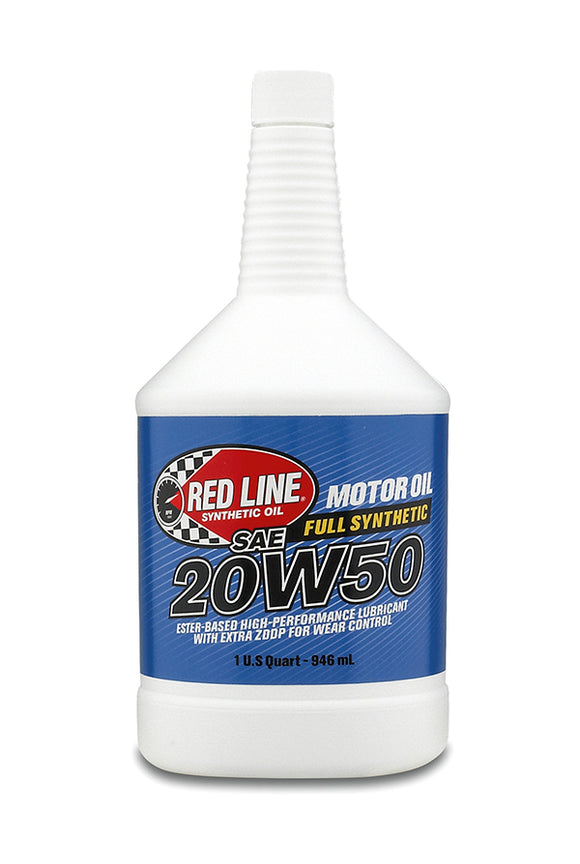 Red Line 20W50 Motor Oil quart