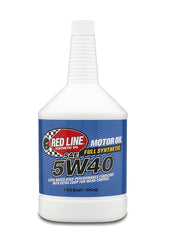 Red Line 5W40 Motor Oil quart