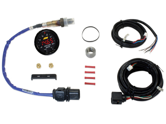AEM X-Series UEGO Wideband O2 Sensor Gauge Kit