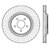 StopTech Power Slot 94-04 Ford Mustang Front Left Slotted Rotor
