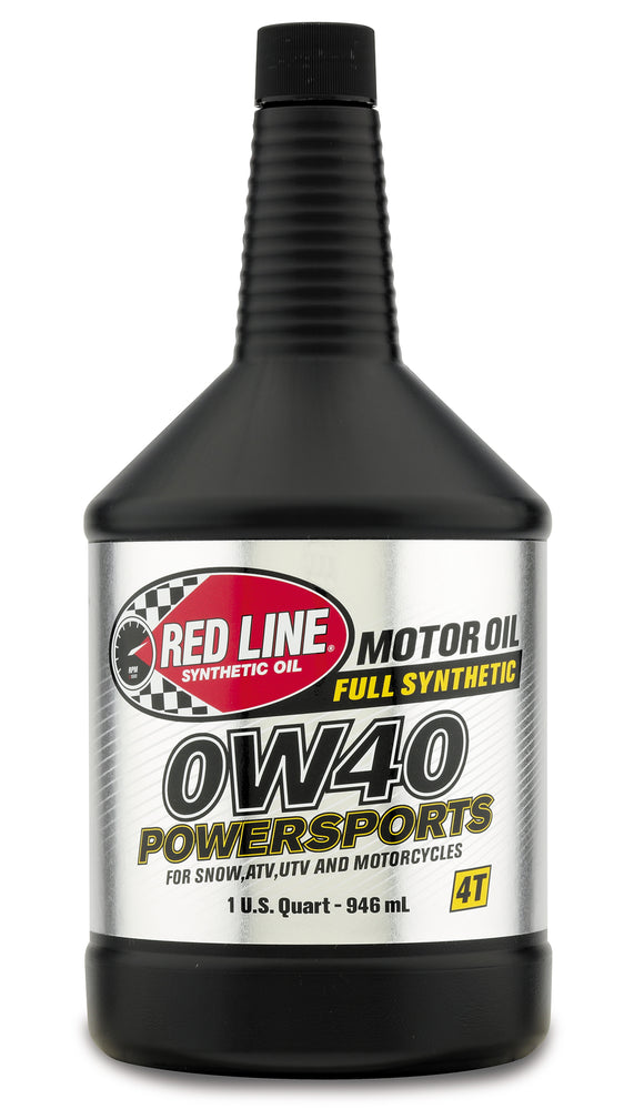 Red Line 0W40 Powersports Oil quart