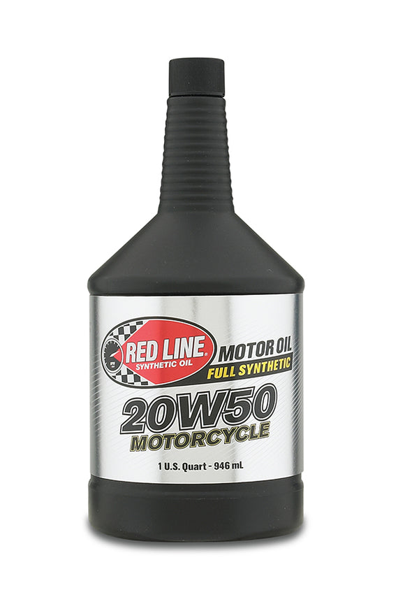 Red Line 20W50 Motorcycle  Oil quart
