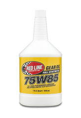 Red Line 75W85 GL-5 quart