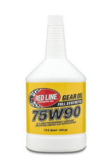 Red Line 75W90 Gear Oil quart