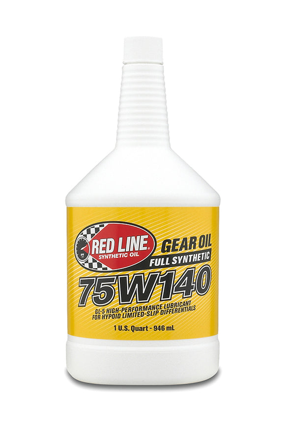 Red Line 75W140 Gear Oil quart