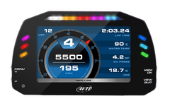 AiM MXS TFT Racing Dash Logger