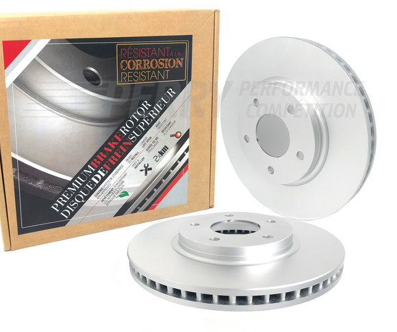 BHO1036-Rear Bremsen Premium Coated Rotors