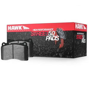 HB453B.585 Hawk HPS 5.0 Brake Pads FRONT (Brembo Calipers)