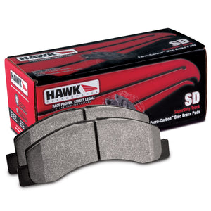 HB283P.650 Hawk SuperDuty Brake Pads FRONT