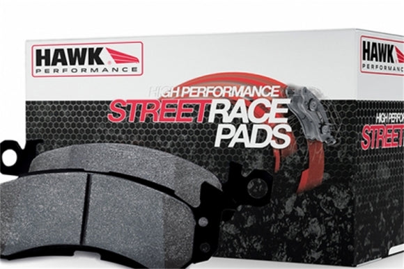 HB180R.560 Hawk Street Race Brake Pads REAR (Brembo Calipers)