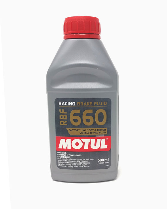 Motul RBF660 Racing Brake Fluid - 500ml