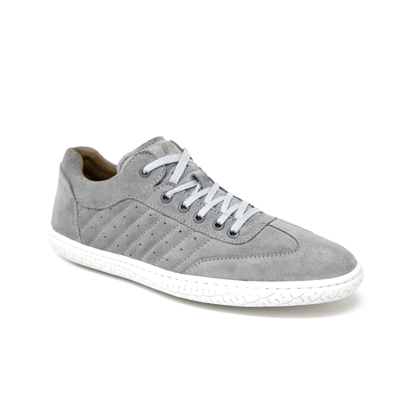 Piloti Pistone X Grey Suede Shoes