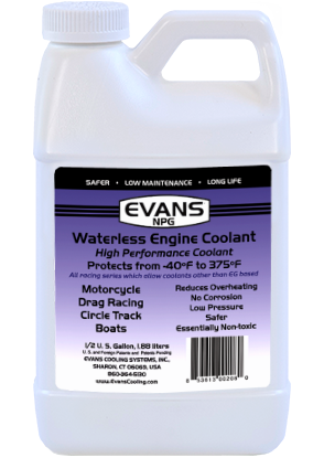 Evans NPG Waterless Coolant 1/2 gal