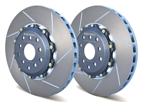 Girodisc Front 2pc Rotor Set for Subaru STI 04-17