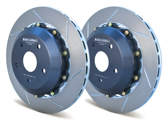 Girodisc Rear 2pc Rotor Set for Subaru STI All