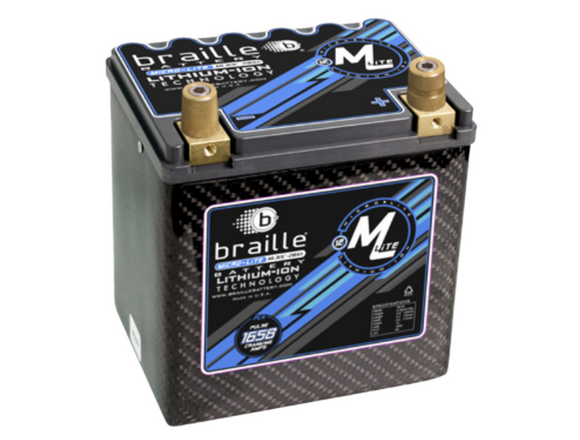 ML30C Braille Micro-Lite Carbon Li-Ion Battery 9lbs/1905PCA