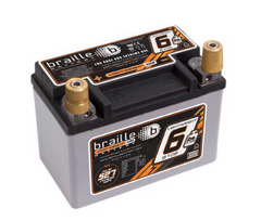 B106 Braille Lightweight AGM Battery 7lbs/510PCA