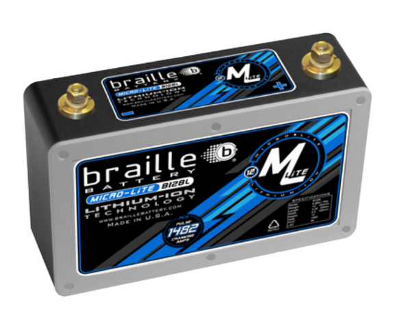 B128L Braille Micro-Lite Li-Ion Battery 8.3lbs/1698PCA