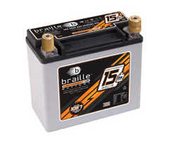 B2015 Braille Lightweight AGM Battery 15lbs/1067PCA