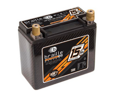B2015C Braille Lightweight AGM Carbon Battery 15lbs/1067PCA