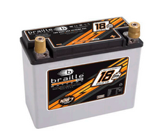 B2618 Braille Lightweight AGM Battery 18lbs/1168PCA
