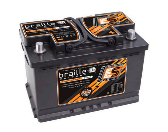 B7548 Braille Endurance AGM Battery 45lbs/2390PCA