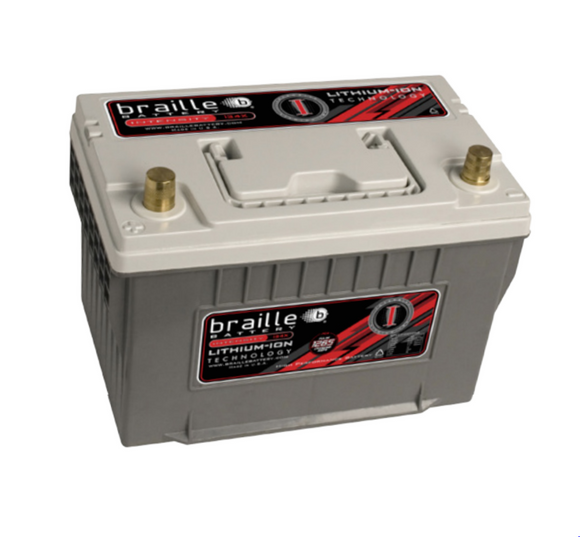 i34X Braille Intensity Li-Ion Battery 11.5lbs/1438PCA