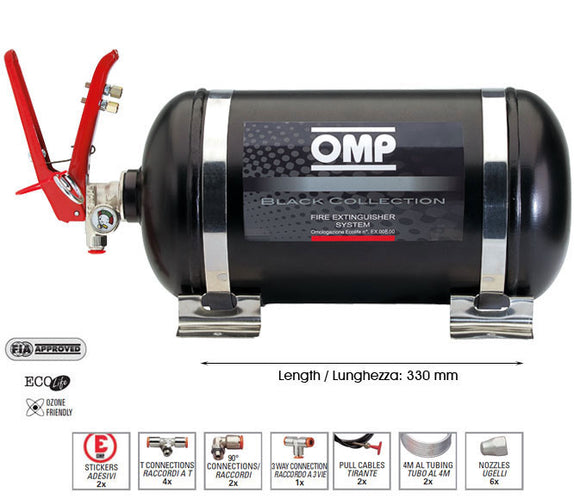 OMP Fire Extinguisher System