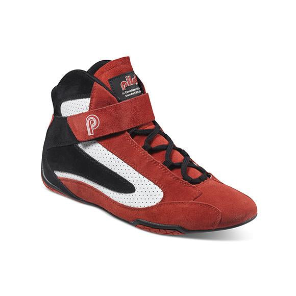Piloti Competizione Red-Black-White FIA Shoes