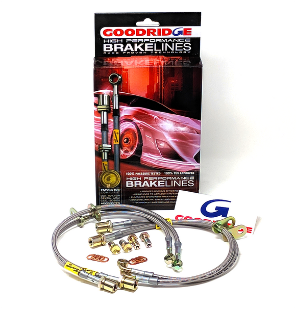Goodridge SS Brake Lines - BRZ/FRS/86 - Brembo