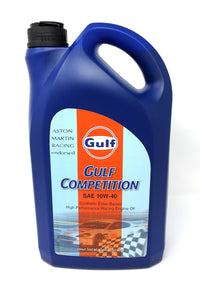 gulf competition 10w40 racing motor oil 5 liter bottle