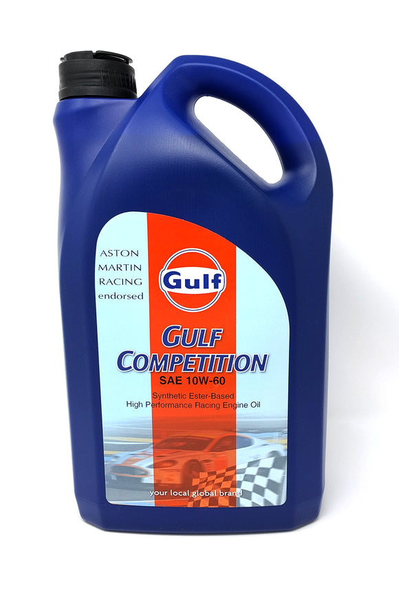 Gulf Competition 10W60 Racing Motor Oil - 5L