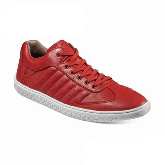 Piloti Pistone Red Leather Shoes