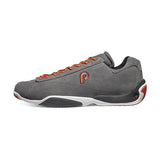 Piloti Prototipo Charcoal-Orange Suede Shoes