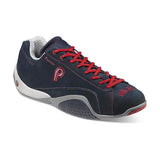 Piloti Prototipo Navy-Red Suede Shoes