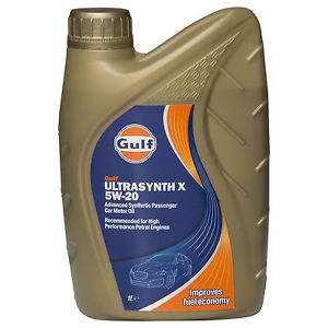 Gulf 5W30 Ultrasynth X Motor Oil - 1L