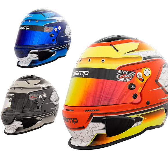 Zamp RZ-70E Switch FIA & SA2020 Helmet - Graphics