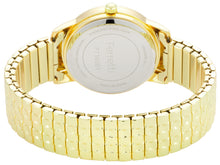 Load image into Gallery viewer, Classic gold expansion bracelet with 32 mm case and big numbers watch  - FT16001