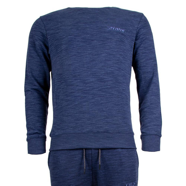 Marl Basic Tracksuit (Sweatshirt and Joggers) - Navy