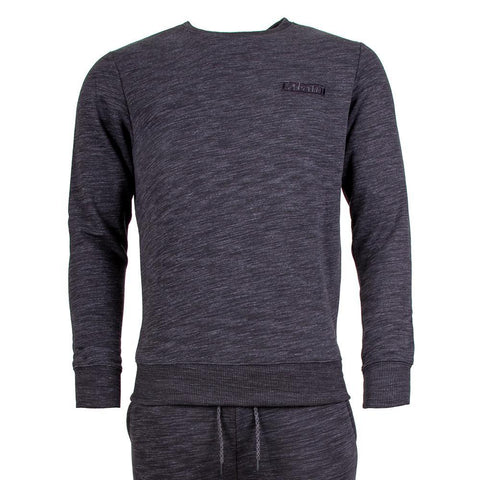 Marl Basic Tracksuit (Sweatshirt and Joggers) - Slate Grey