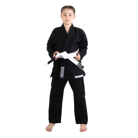 Kids Essential Black Gi
