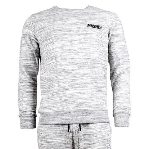 Marl Basic Tracksuit (Sweatshirt and Joggers) - Grey