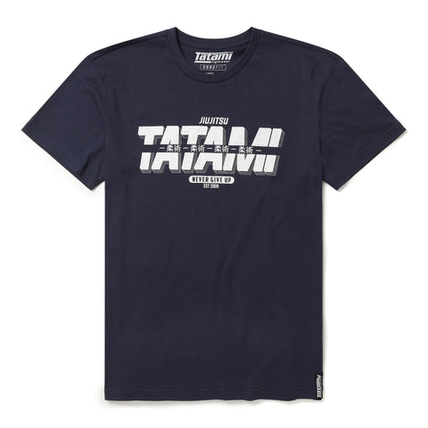 Burnout T-Shirt - Navy